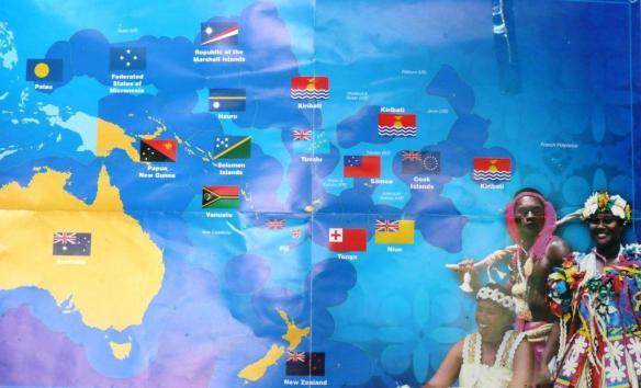 1 Pacific island