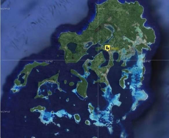 13 Vava'u Map
