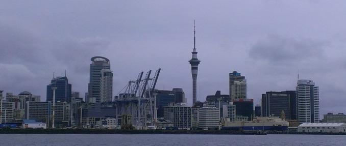 Auckland – Skyline.