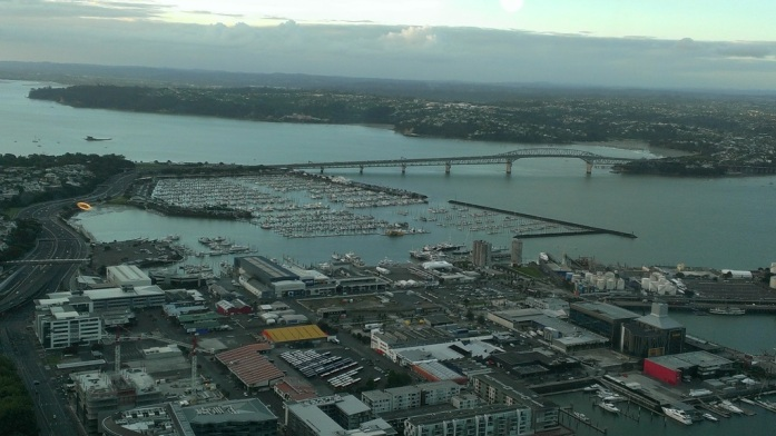 Auckland – city of sails.