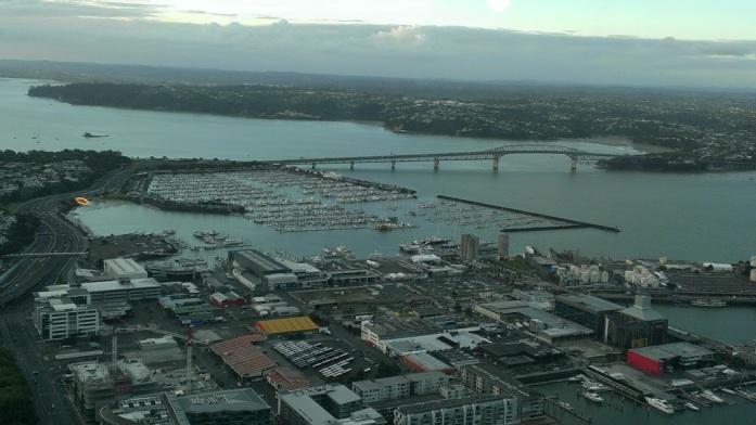 Auckland – city of sails.