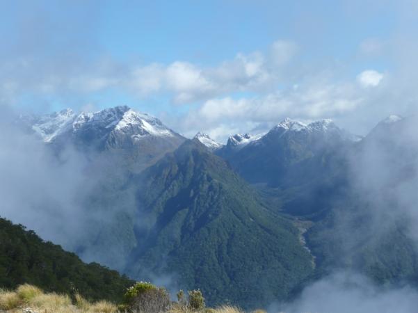 Les Monts Kepler, le lendemain.