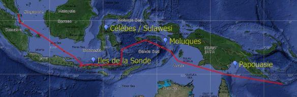 9 Route Indonésie