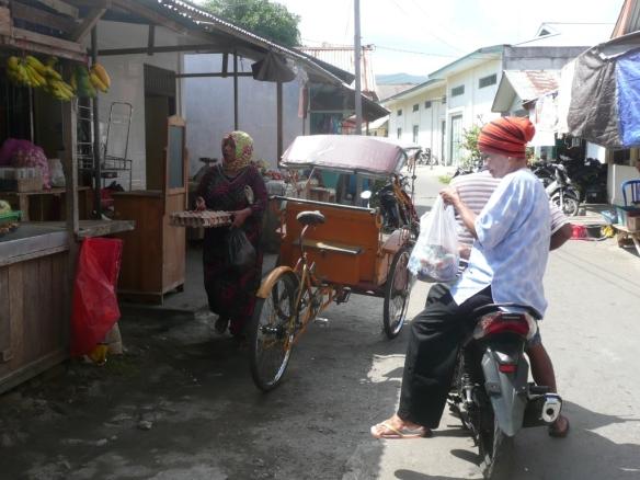 Banda Neira – Passar Pagi, le marché.