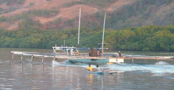 Riung – départ à la pêche