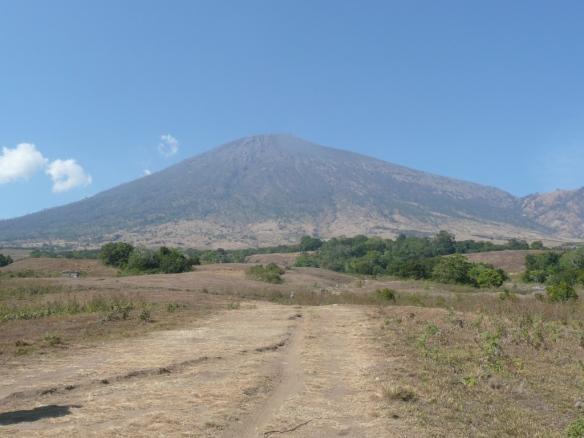 Le Gunung Rinjani à Lombok.
