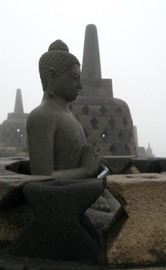 Chaque stupa abritait un Buddha