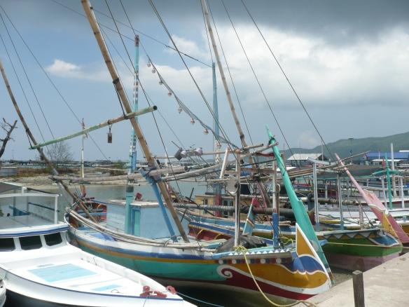 Karimum Jawa - Port de pêche