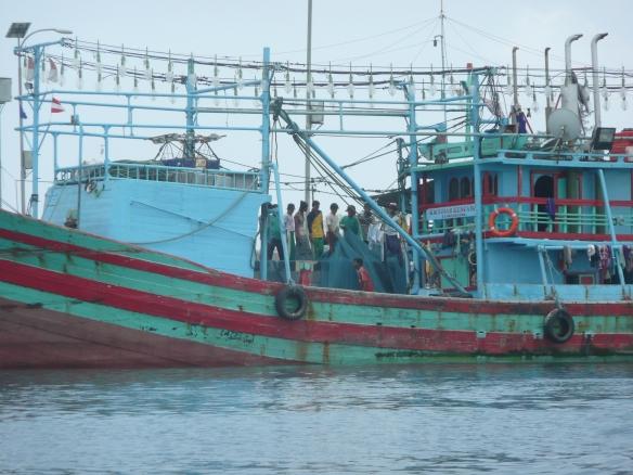 Karimum Jawa - Retour de pêche