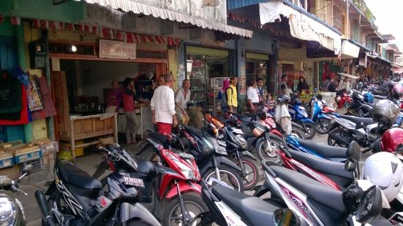 Tanjung Pinang - Ile de Bintan sur l'archipel de Riau Parc d'ojeks