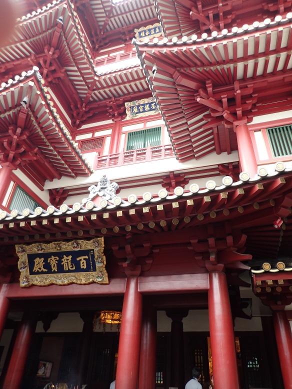 Singapour – Temple de la relique de la dent d'or du Buddha.