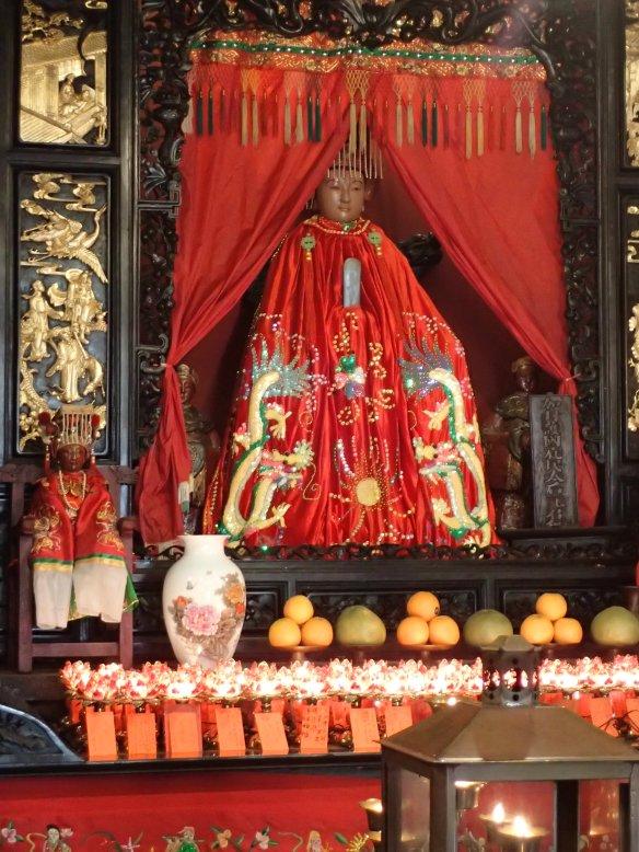 Hong Kong - Temple de Tin Hau, la déesse de la mer à Aberdeen