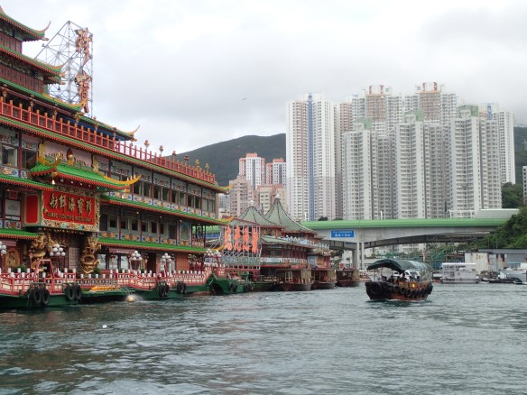 Hong Kong – Jumbo floating restaurant à Aberdeen