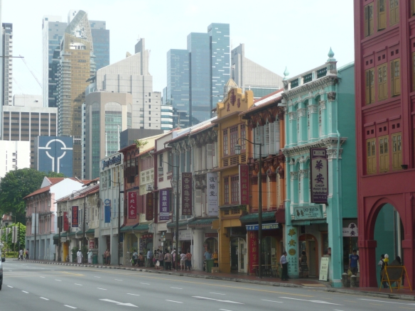 Singapour – China District