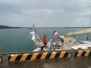 Port de Maedomari - Tarama Shima - Quai des ferrys , 2m50 de marnage